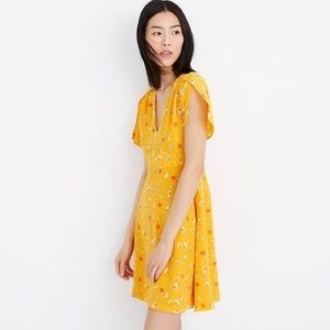 Madewell | Silk Belladonna Dress